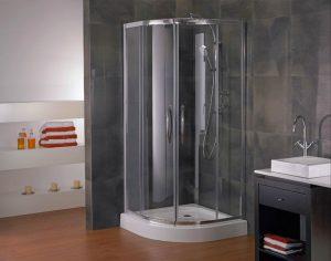mampara ducha aluminio