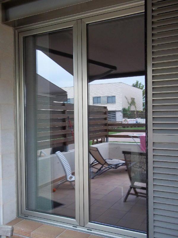 Puerta Aluminio Terraza Aluminios Y Pvc Moya Reus