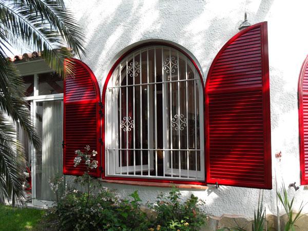 ventana exterior aluminio