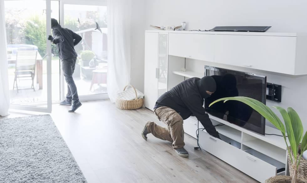 piso sin rejas y persianas de seguridad