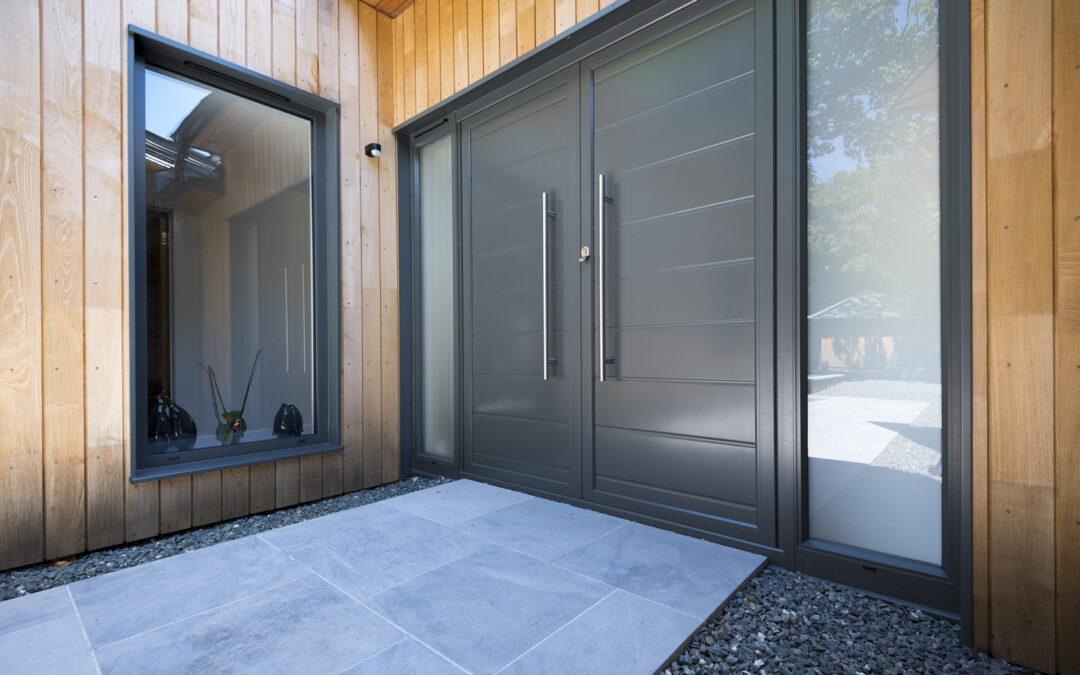 puerta de entrada metálica puertas metálicas en Reus